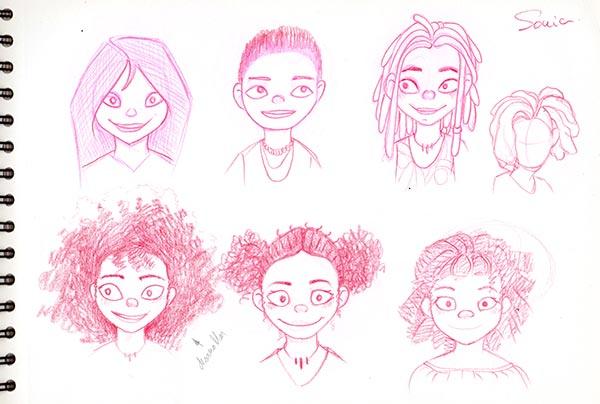 Bocetos Sonia