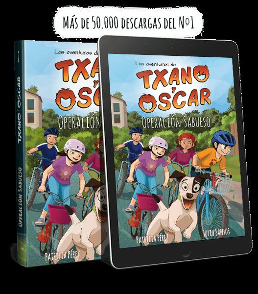 Txano y Óscar - La piedra verde - Literatura infantil freemium