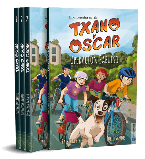 Txano y Óscar - Operación Sabueso - Una colección de literatura infantil freemium