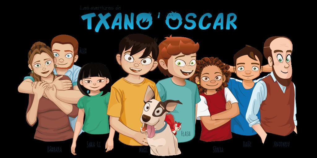 Txano y Óscar - Presentación de los personajes